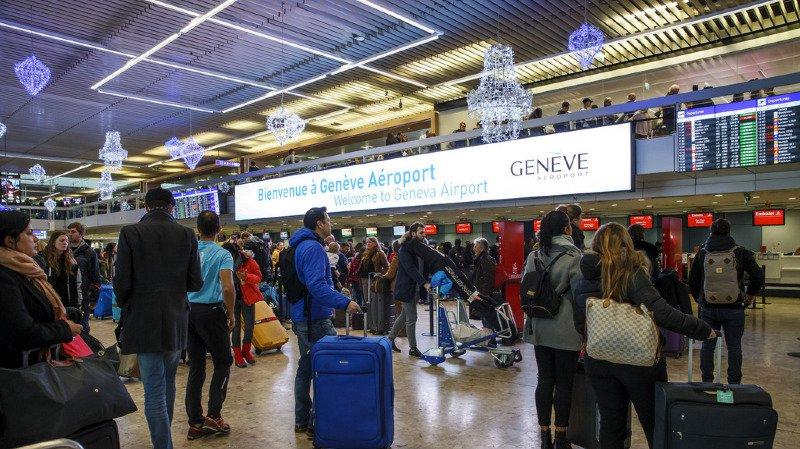 Aéroport de Genève: weekend chargé à Cointrin, mais pas d'incidents à signaler