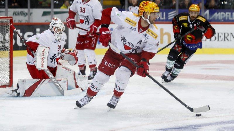 Hockey sur glace: Lausanne battu 3-0 à Berne, Fribourg s'incline 3-2 à Zurich