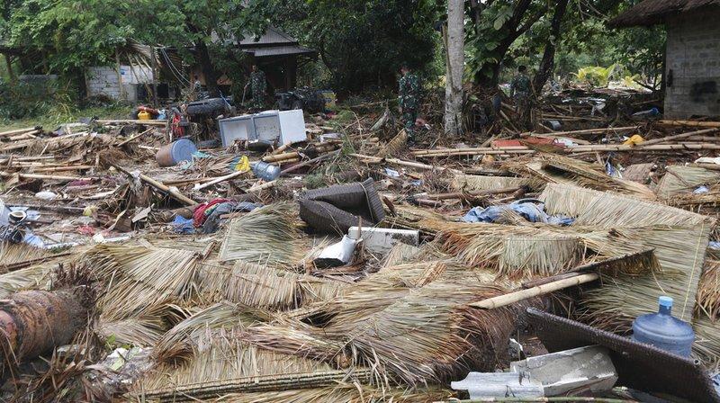 Indonésie: les survivants du tsunami victimes de la faim et de la maladie