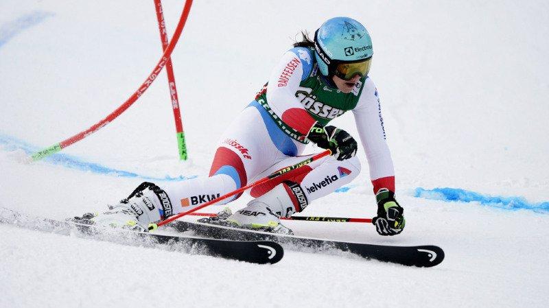 Wendy Holdener est la seule Suissesse à pouvoir jouer les premiers rôles en géant.