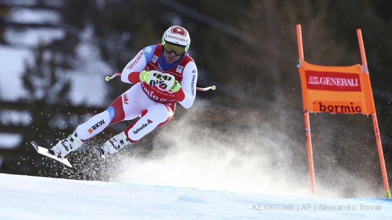 Ski alpin: Beat Feuz décroche une belle 3e place lors de la descente de Bormio, les Italiens maîtres chez eux