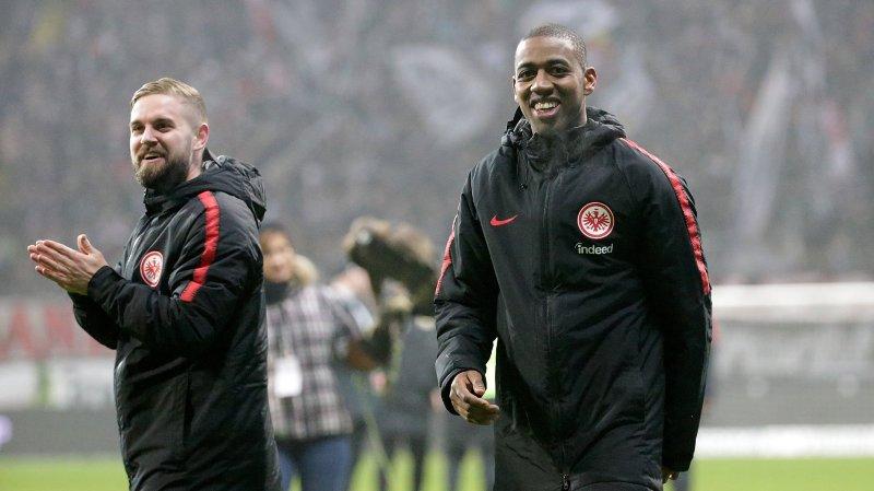 Football: Gelson Fernandes restera lié à l'Eintracht Francfort jusqu'en 2020
