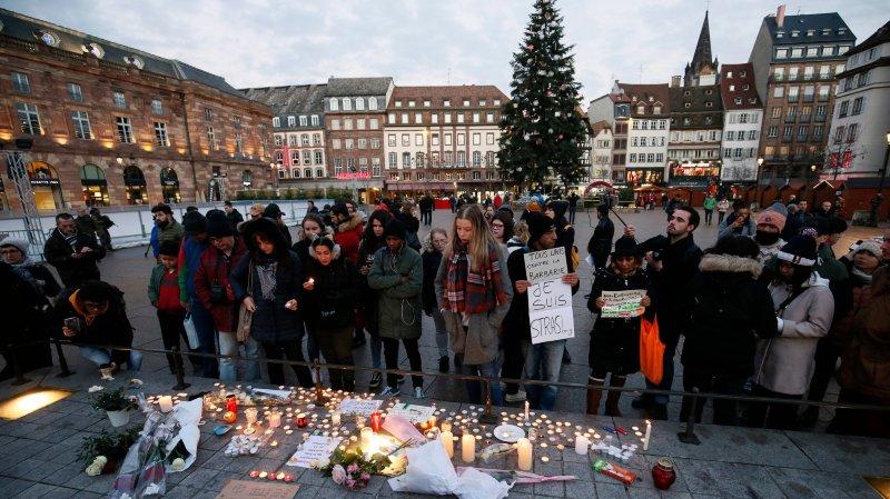 Strasbourg: 700 hommes pour traquer l'assaillant