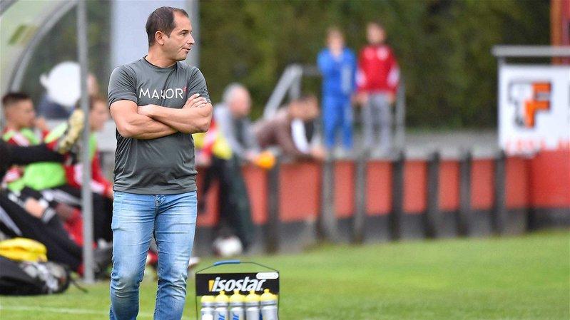 Eric Ampola n'entraînera pas le FC Chippis lors du deuxième tour.