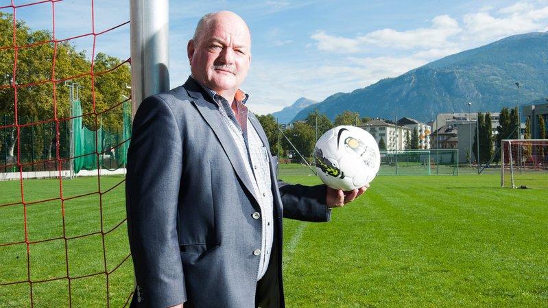 Aristide Bagnoud, président de l'Association Valaisanne de Football, et son comité peuvent préparer sereinement le centième anniversaire de l'AVF.