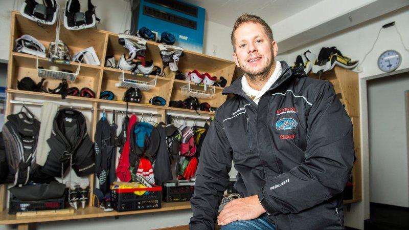 Martin Zerzuben quittera le vestiaire de Saastal pour prendre ses quartiers à Viège, dans la future Lonza Arena notamment.
