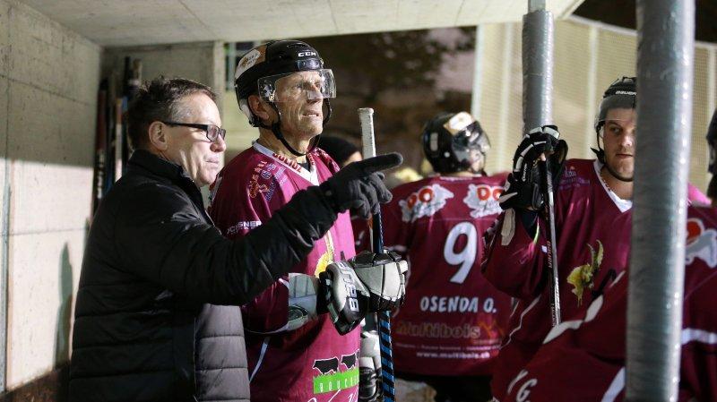 Les deux figures du hockey suisse défendaient cette fois-ci la même cause.