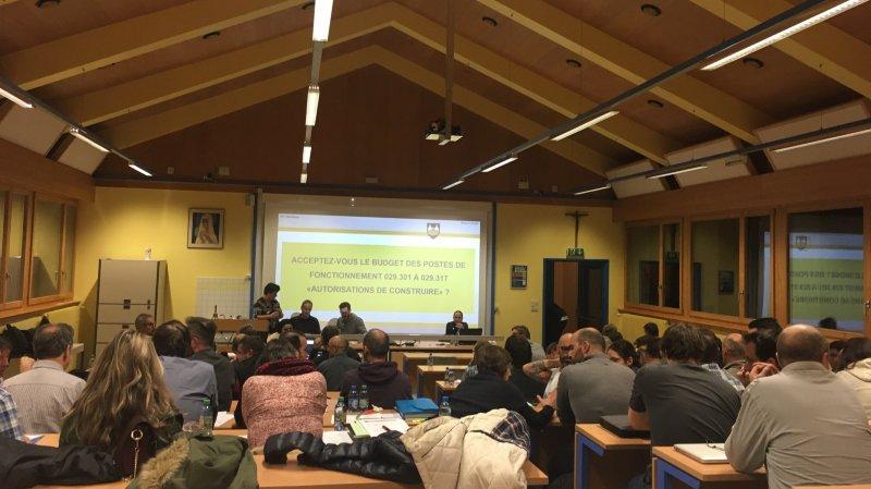 Bagnes: le Conseil général tape du poing sur la table