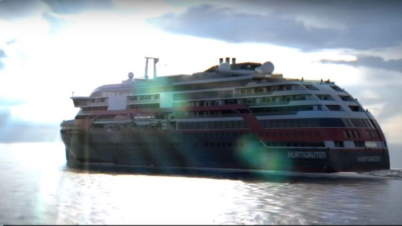 Norvège: la compagnie Hurtigruten va lancer prochainement ses premiers navires de croisière hybrides