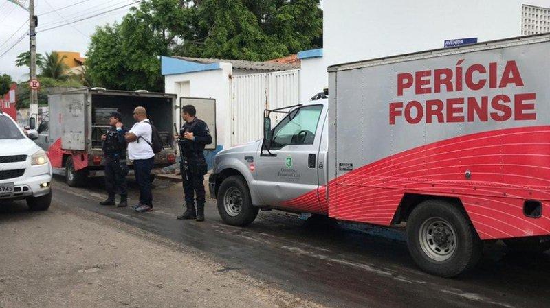 Une équipe d'expertise médico-légale s'est rendue sur les lieux de la fusillade.