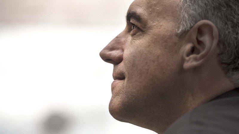 Christophe Darbellay est candidat pour un deuxième mandat au Conseil d'Etat.