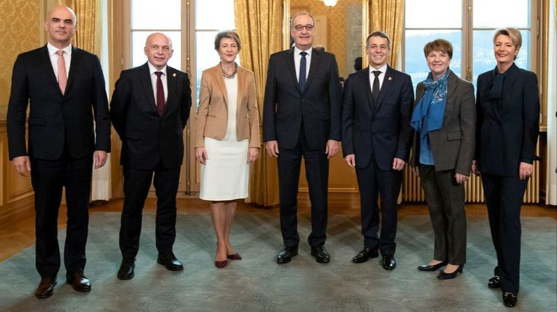 Les sept conseillers fédéraux n'ont pas réussi à trouver un accord vendredi.