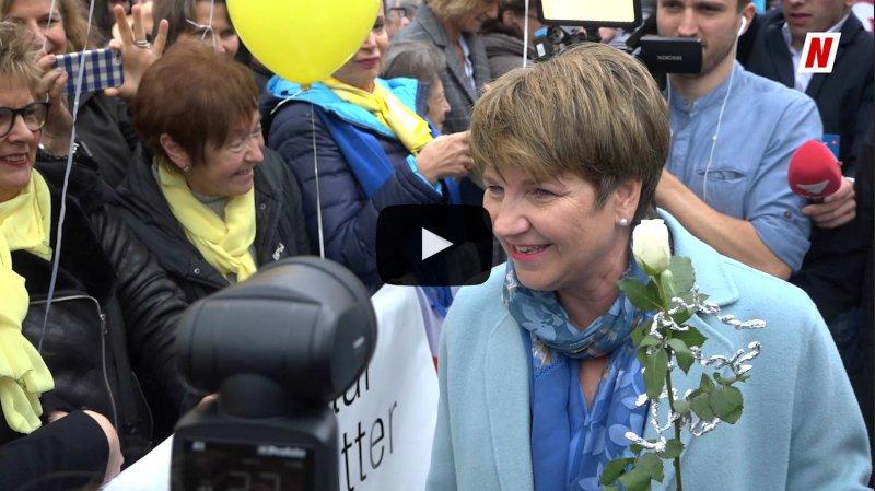 Élection au Conseil fédéral: une journée historique pour le Valais, unique pour Viola Amherd