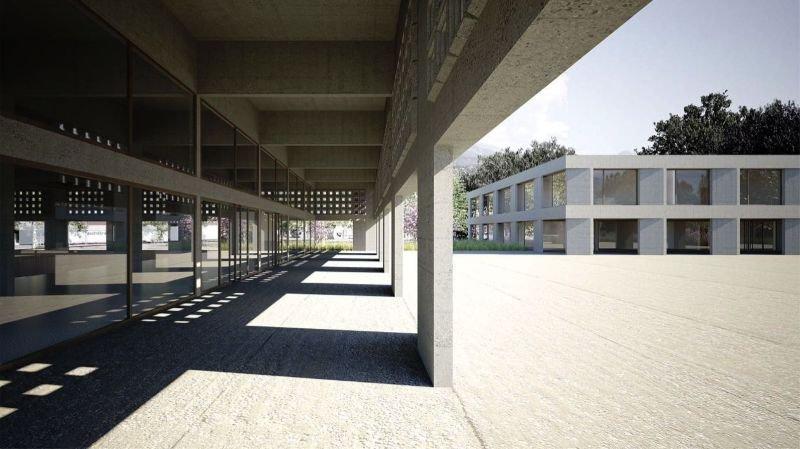 Sion: dix nouvelles salles de classes et deux salles de gym pour l'école de Champsec