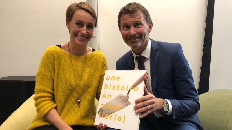 Un livre pour relater cent ans de construction en Valais