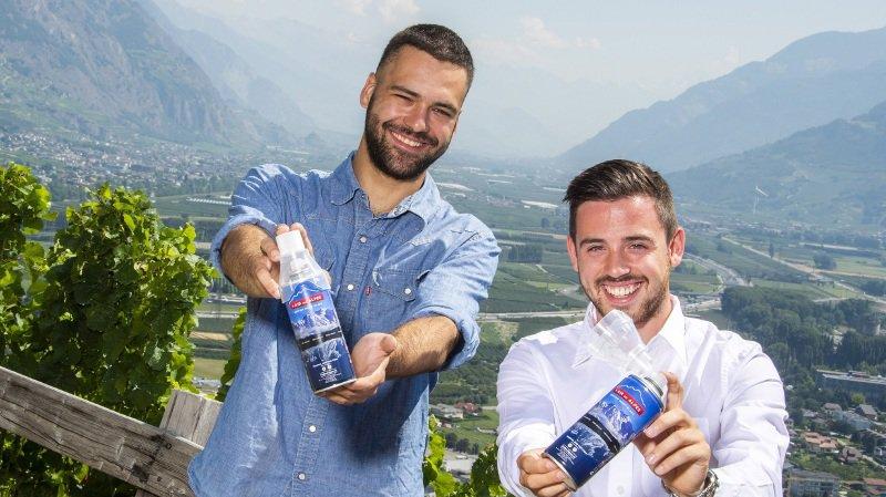 Ces Valaisans qui ont marqué l'actualité 2018: Florent Buser et Cyrill May, pourvoyeurs d'air des Alpes en bouteilles