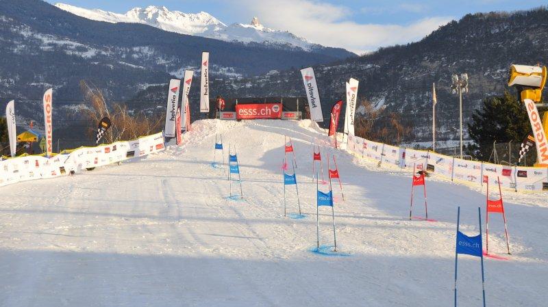 Le sommet des pistes du jardin des neiges ressemblera désormais à un portique de départ de Coupe du monde.