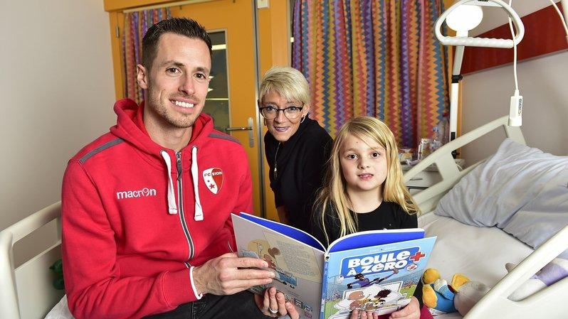Hôpital du Valais: 800 bandes dessinées distribuées aux enfants hospitalisés