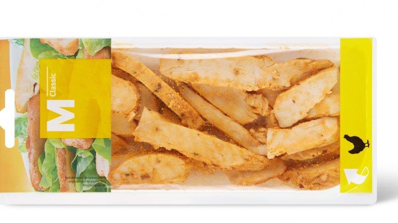 Rappel de produit: des tranches de poulet M-Classic ne sont pas assez cuites