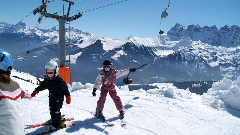 Les élèves de l'école primaire skieront gratuitement sur Champéry, Morgins, Les Crosets et Champoussin, cet hiver.