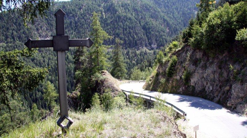 La route entre Pinsec et Vercorin est rouverte depuis ce mardi 15 heures.