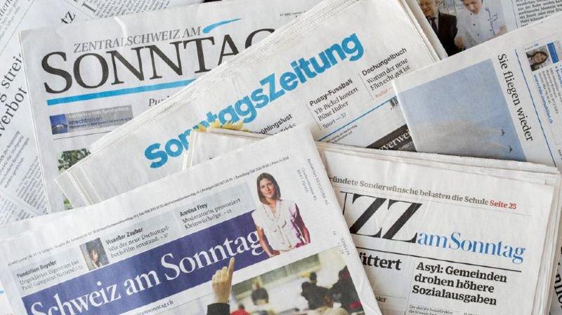 Revue de presse: vivisection, jeunisme, surfacturations chez Ruag ou fin du tourisme hivernal au menu de ce dimanche