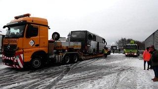 Un mort et 44 blessés dans un accident de car à Zurich