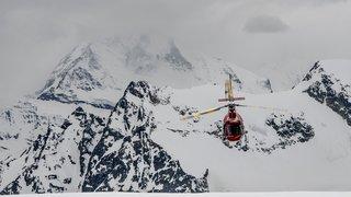 Zermatt (VS): cinq personnes rescapées d'une coulée de neige