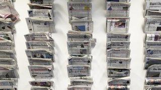 Journaux et périodiques: la Confédération augmente d'un centime le rabais pour la distribution