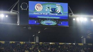 Football - Ligue des champions: un fan de la Juventus chute d'une tribune du Stade de Suisse