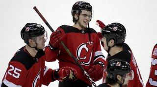 Hockey sur glace – NHL: les Suisses Nico Hischier et Sven Andrighetto buteurs