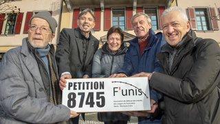 F'unis: 8745 signatures et le soutien du Conseil d'Etat pour une réflexion sur le maintien des arrêts SMC