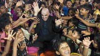«Avec les enfants rohingyas, on a parlé avec les mains»