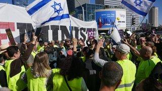 La fièvre des gilets  jaunes gagne Tel Aviv