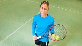 Tennis: Sandy Marti veut explorer ses limites sur un court pour ne pas avoir de regrets, plus tard