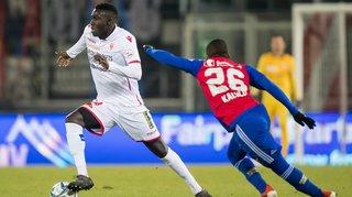 Football: le FC Sion manque son cadeau de fin d'année