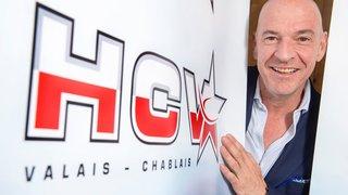 Patrick Polli: «Le HCV Martigny sera candidat à la promotion en Swiss League»