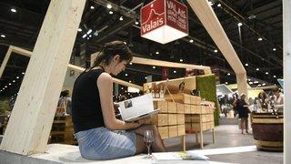 Ça s'est passé le 25 avril 2018: le Valais en star au Salon du livre de Genève