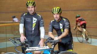 Les frères Gailland, tous deux cyclistes, sont des adeptes de l'effort extrême