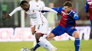 Football: découvrez les notes des joueurs du FC Sion lors du match contre Bâle