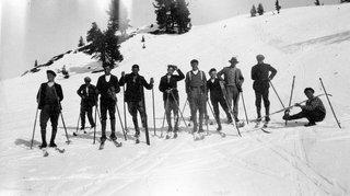 Quand le ski arrivait sur l'or blanc valaisan