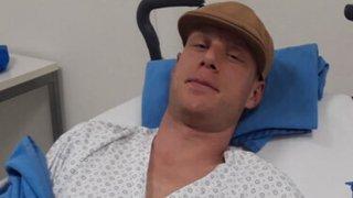Le boxeur Benoît Huber s'est fait opérer de la main après sa blessure concédée samedi à Martigny