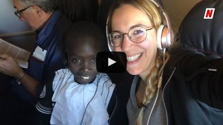 Terre des Hommes, la renaissance d'Abdoulaye en Valais:  son départ de Massongex et les retrouvailles avec sa famille