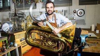 Elie Darbellay, le Lidderain qui devient réparateur d'instruments de musique à vent