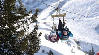 L'hiver dans nos stations: vivre le rêve d'Icare à Châtel