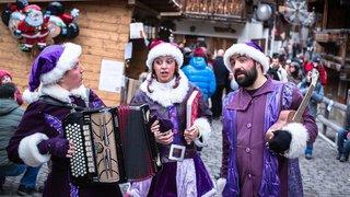 Les féeries de Noël vont enchanter Grimentz