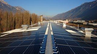 Martigny: Hydro Exploitation pose 1100 panneaux