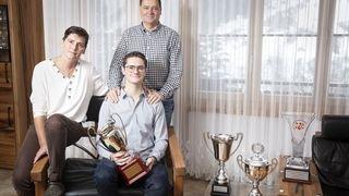 Cédric Ritler est fier d'être le premier Haut-Valaisan sacré champion soliste junior