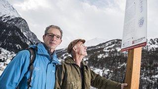 Chasseurs, promeneurs, écologistes: le Sentier des Traces du val d'Hérens fait l'unanimité
