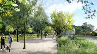 Rhône 3: Valais et Vaud lancent un concours international pour aménager les digues du fleuve